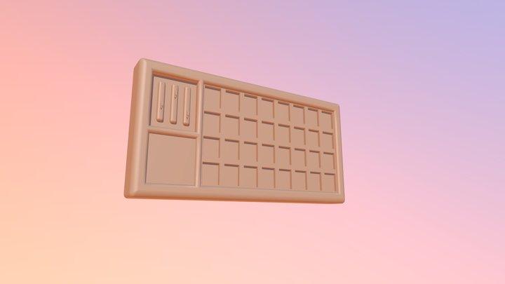 Reactive Wall Art Model 3D Model