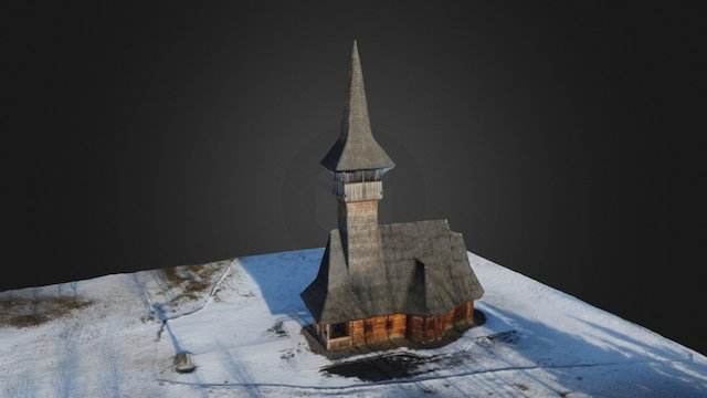 Kostel sv. Valentina - Church of St. Valentine 3D Model