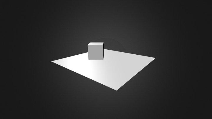 Basic Cube Setup 3D Model
