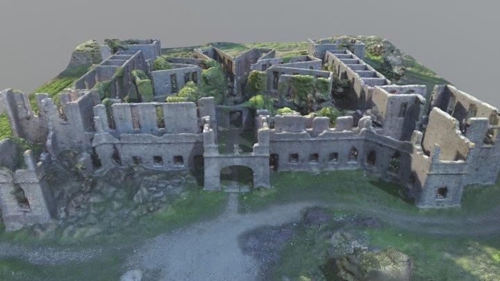 Sanatório Albergaria 3D Model