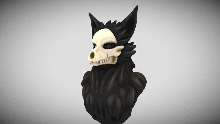 CadaverBust 3D Model