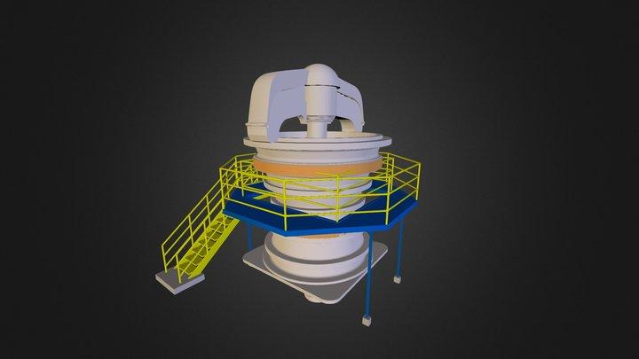 chancador 3D Model