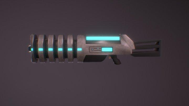 Sci Fi Blaster 3D Model
