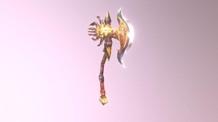 Demon Axe 3D Model
