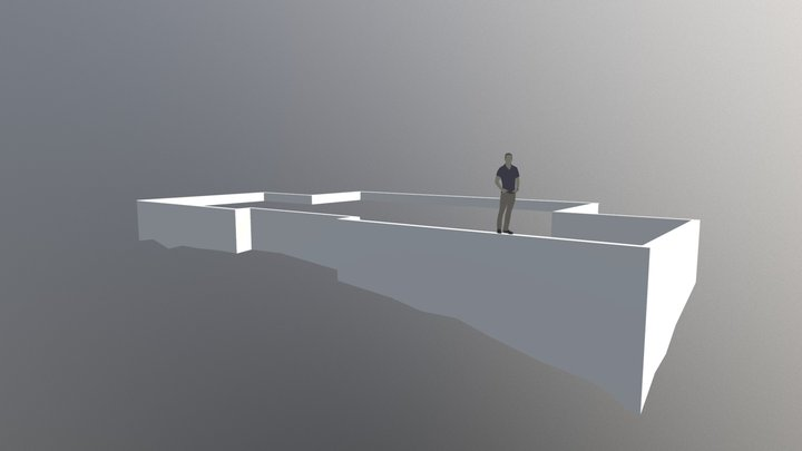 VillaPasila - Foundation 3D Model