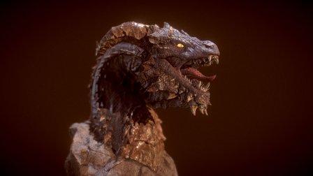 Moodpack Fantasy - Dragon 3D Model