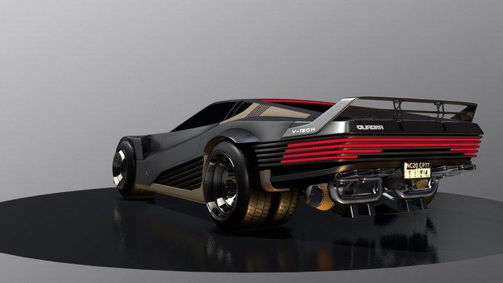 Cyberpunk 2077 - Quadra V-Tech - E3 Version 3D Model