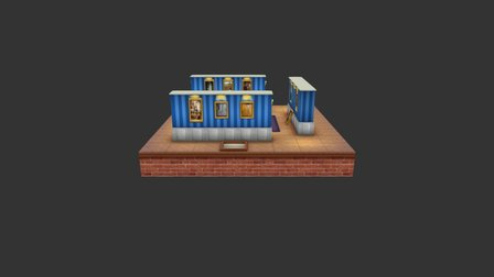 fin 3D Model