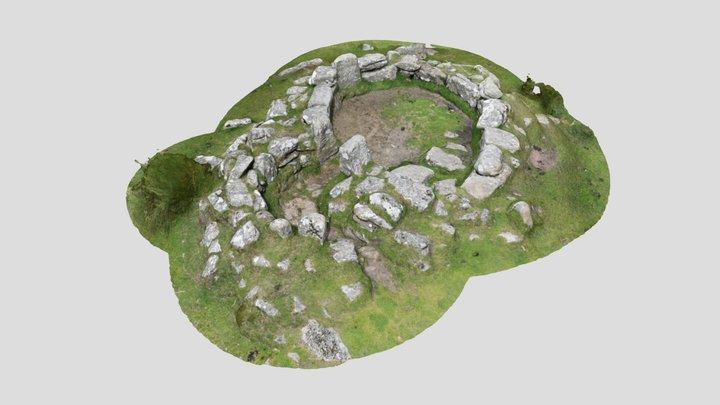 Grimspound Hut 3D Model