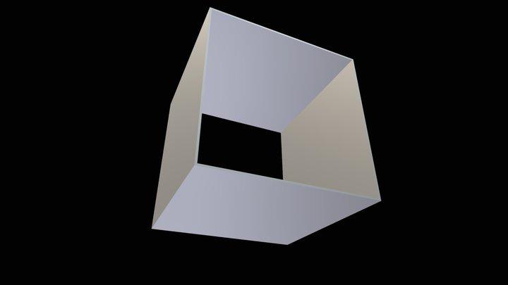 Equivalent 4-edge loops 3D Model