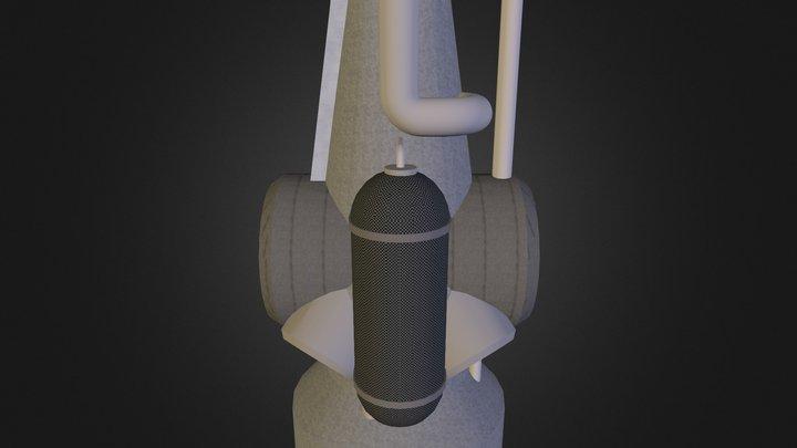 Smelter WIP 3D Model