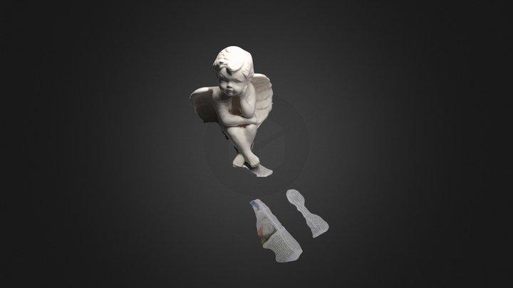 Angel. Erster Versuch 3D Model