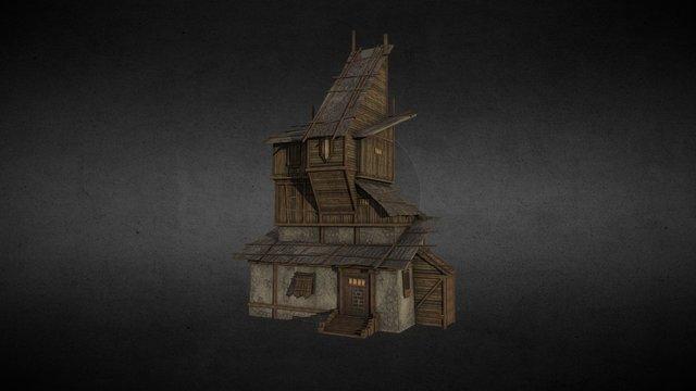 farm house model 3D Model