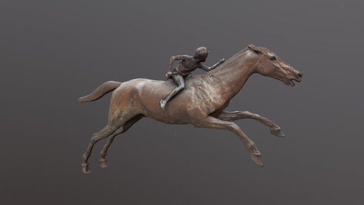 Jockey of Artemision (After) 3D Model