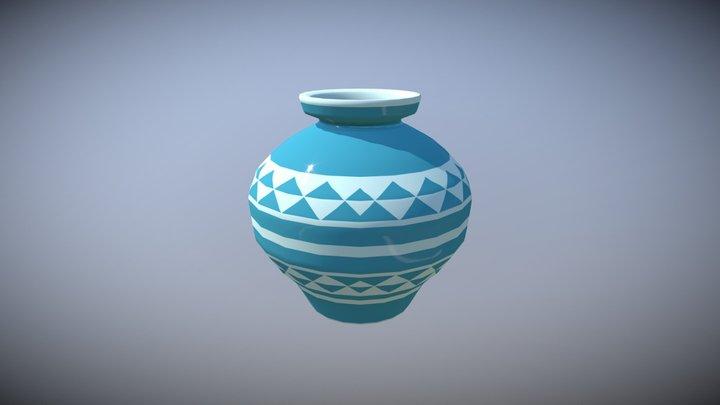 Zelda Like Pot 3D Model