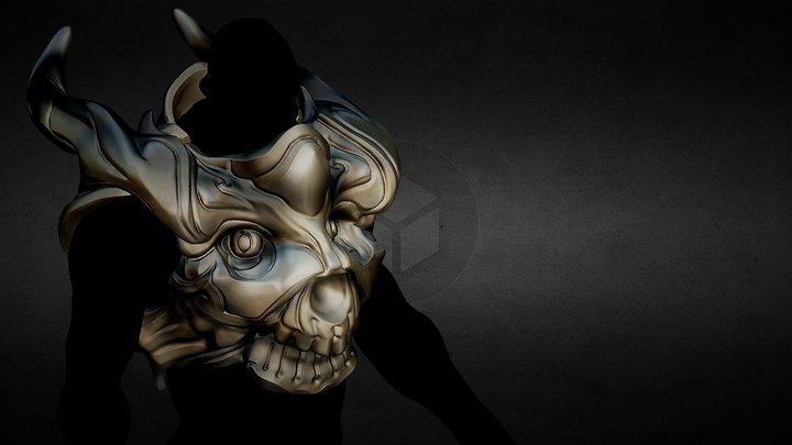 Fantasy chest armor 3D Model