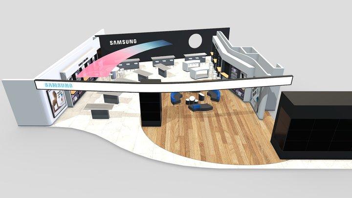Samsung Melbourne Central 3D Model