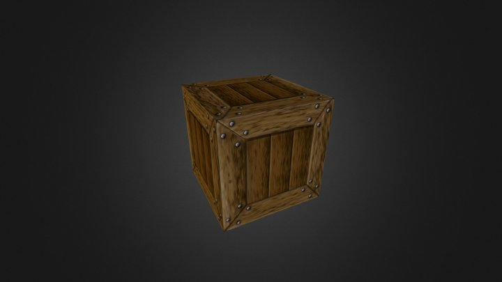 The start of something crate 3D Model