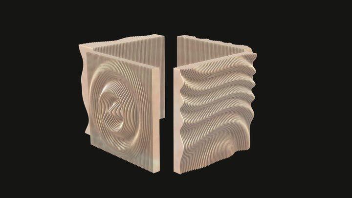 Parametric Walls - 4 types 3D Model