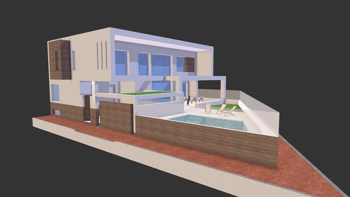 Casa Ruiz 3D Model