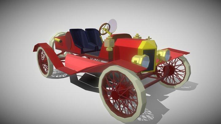 DP #2 HW 5_1 [Ford Model T Speedster] 3D Model