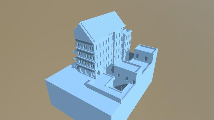 Mimarlık Fakültesi/ Mardin 3D Model