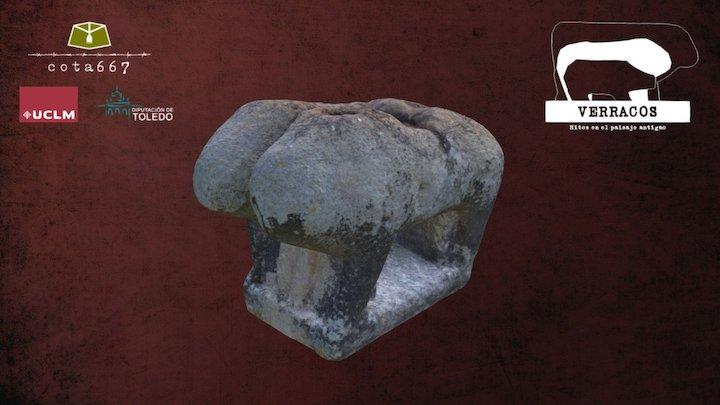 Verraco de Alcolea de Tajo 3D Model