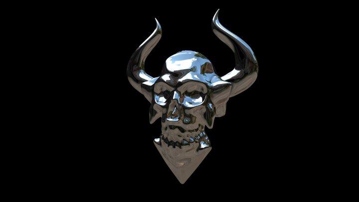 Doom Sheld ornament try 1 3D Model