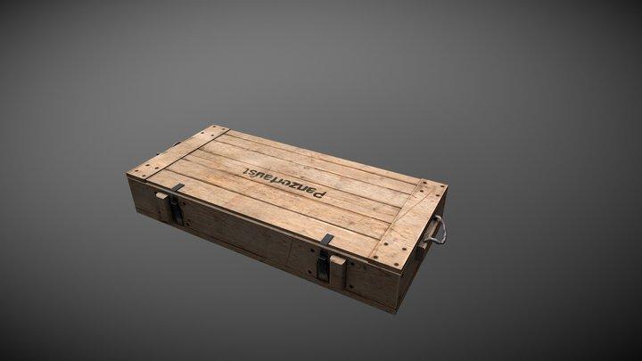 Panzerfaust 60 Crate 3D Model