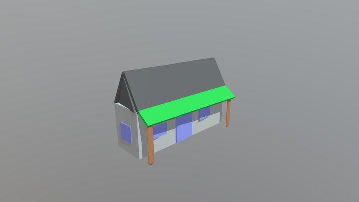 Model Rumah Sederhana 3D Model