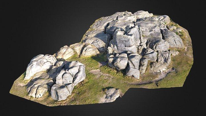 Wellington Rocks, Tunbridge Wells, UK 3D Model