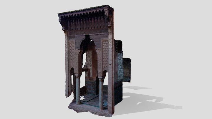 Tumbas saadíes Marrakech 3D Model