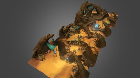 Sands Location 3D Model