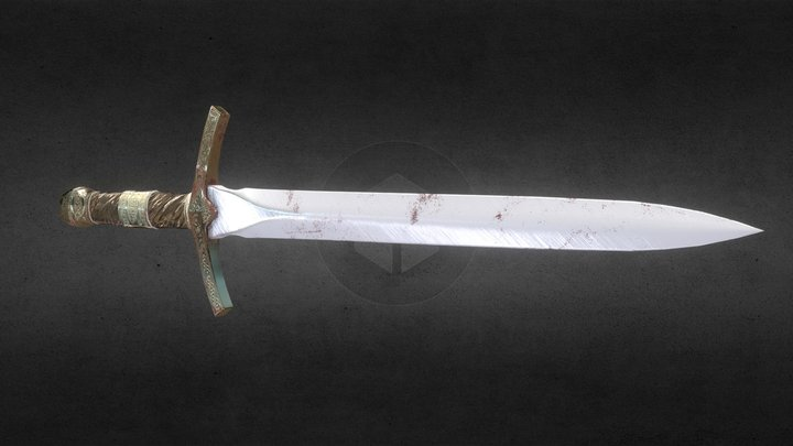 My Dagger ( No Poision Like ReggieSlows) 3D Model