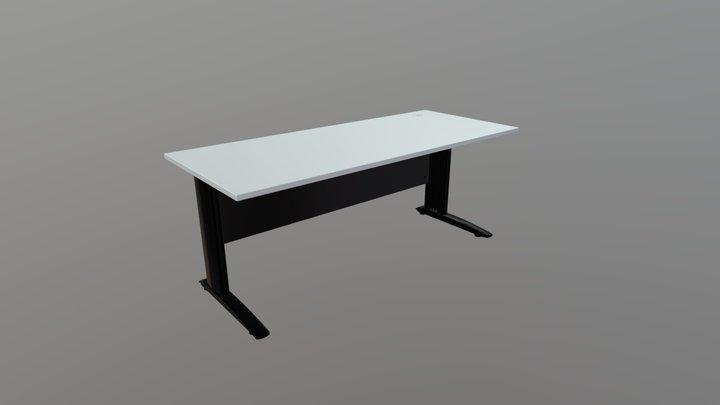 Commercial Cleg Desk 1 3D Model