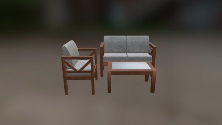 sofa.unity 3D Model