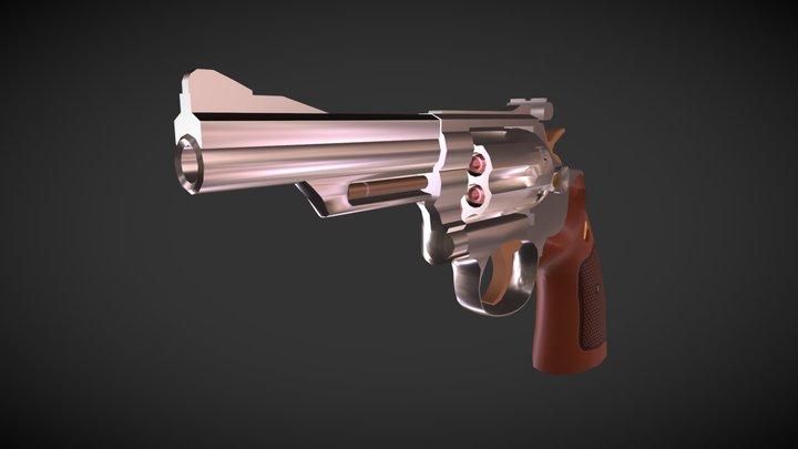 Smith & Wesson Combat Magnum 3D Model