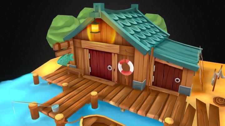 Fisherman's House 3D Model