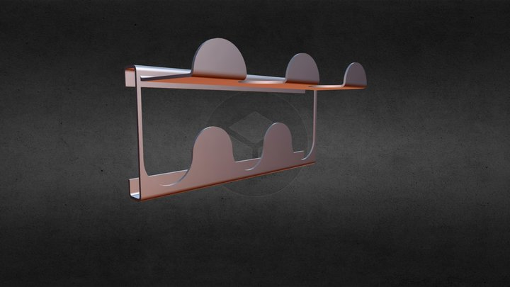 Coat Hanger 3D Model