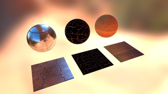 Material Test 3D Model