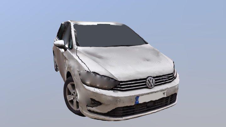 Golf Sportsvan (fotometria) 3D Model