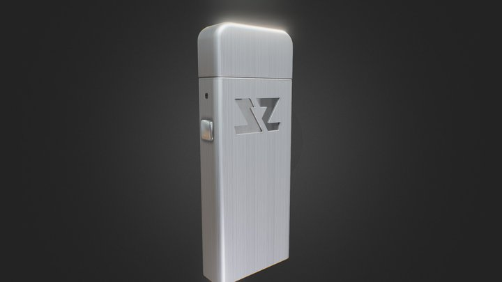 ZeltuX Edition One - Silver | Brushed Cap 3D Model