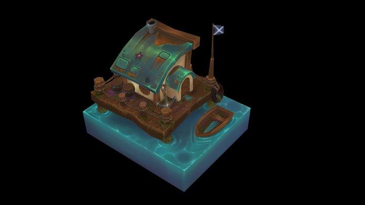 sea house 3D Model