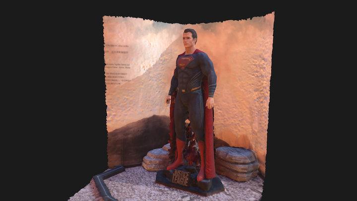 Superman - Justice League 3D Model