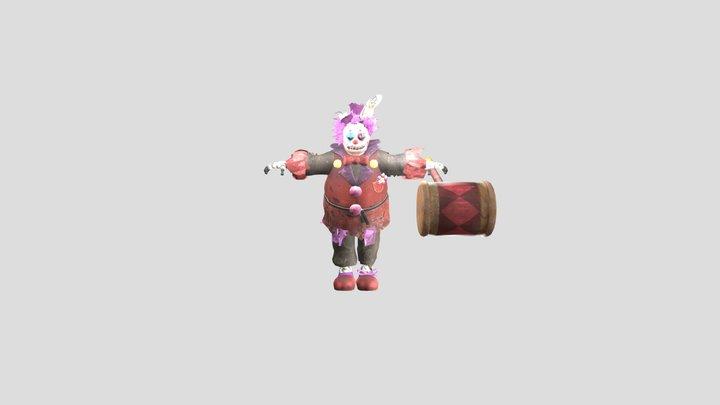 Clown Springtrap Special Delivery 3D Model