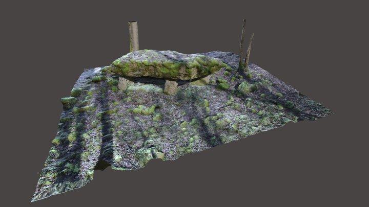 Dolmen de  Rochefort La Cote 3D Model