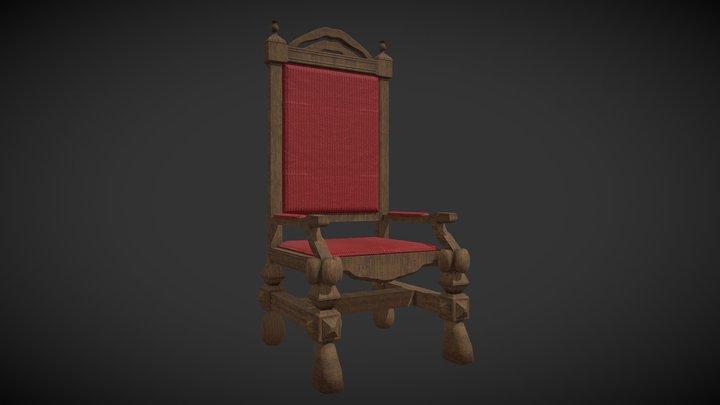 Royal Chair 3D Model