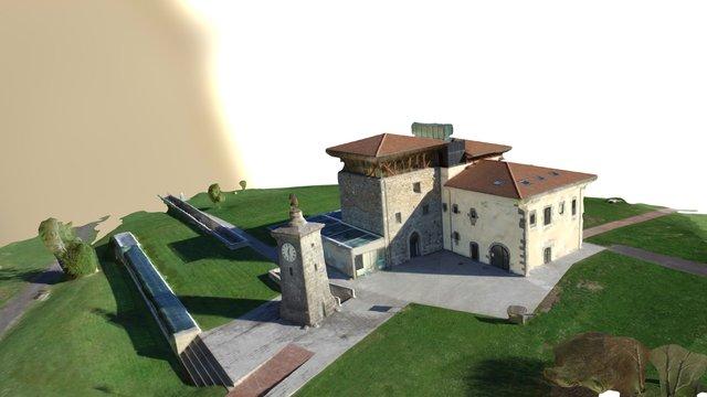 Torre de Madariaga - Biodiversidad de Euskadi 3D Model