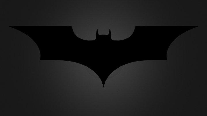 Logo Batman 3D Model