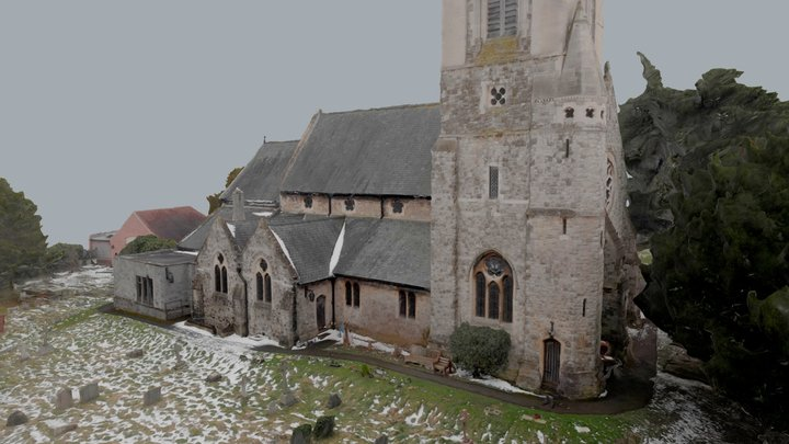 St. Dunstan's Church 3D Model